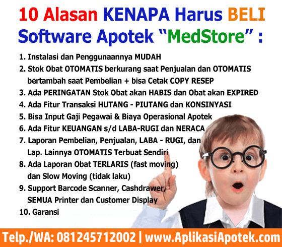Software Apotek Terbaik Ya MedStore