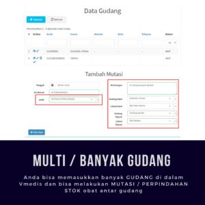 Aplikasi Apotek Vmedis - Multi Gudang