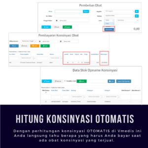 Software Apotek Vmedis - Konsinyasi Obat